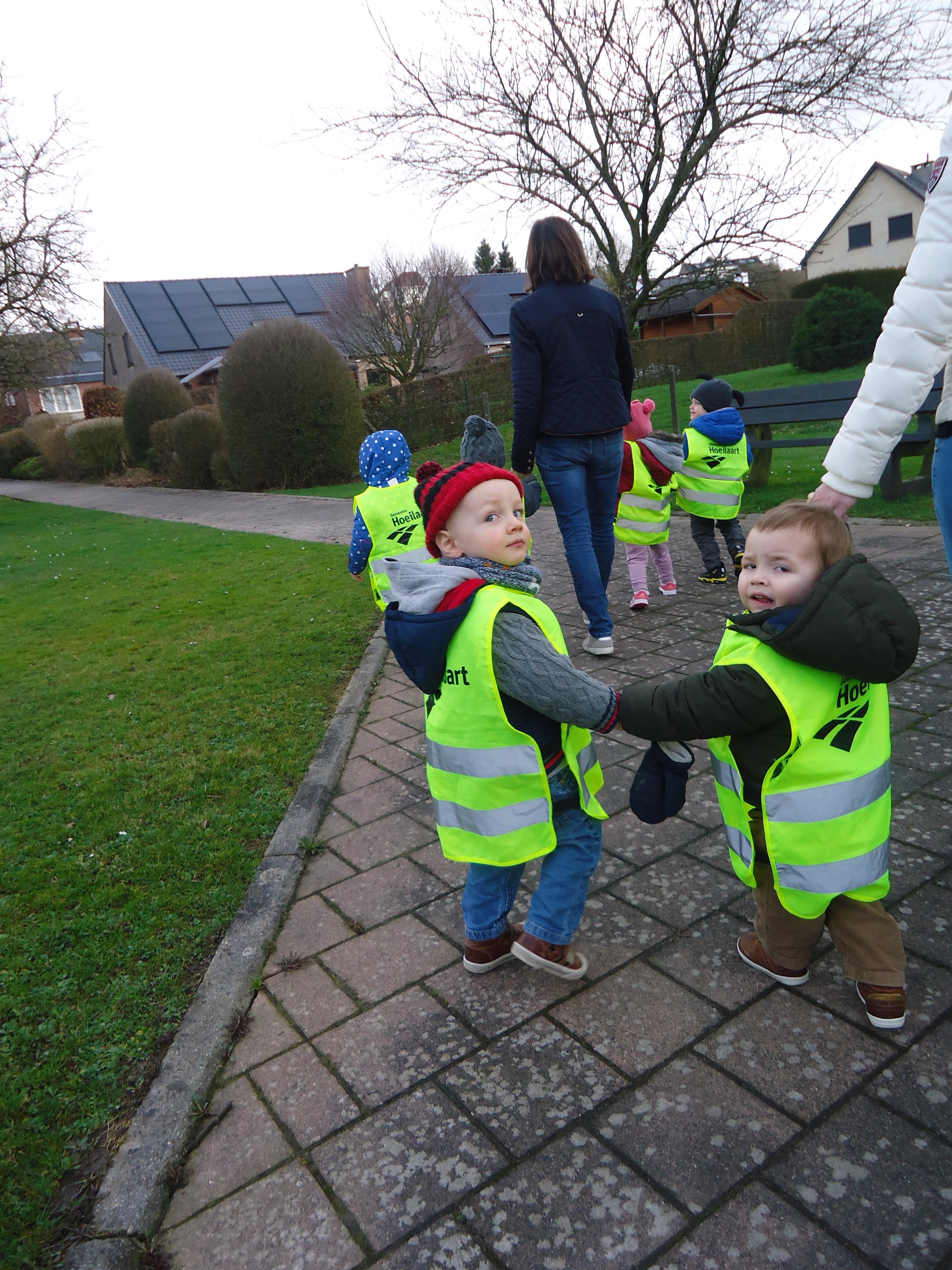 Wandeling kinderdagverblijf